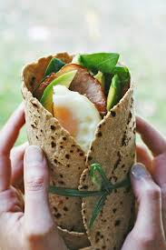 Breakfast Wrap (to have on the go)