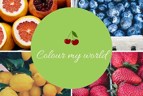 Colour my world blog