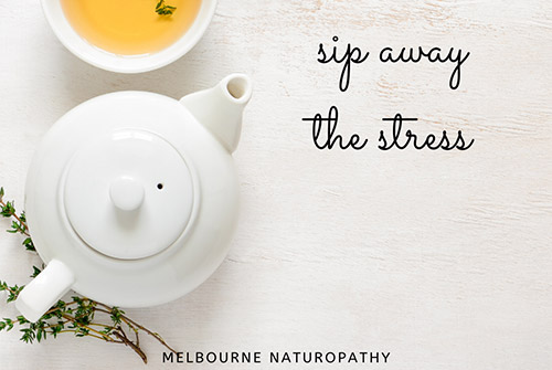 sip away stress